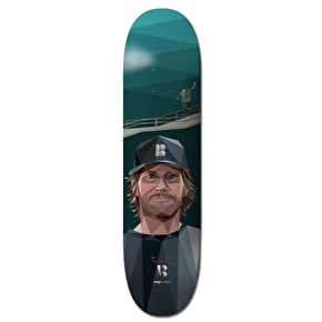 Plan B Pro Spec Duffy Alf Art Skateboard Deck - 8.125