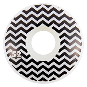 Habitat x Twin Peaks Chocolate Skateboard Wheels - 52mm