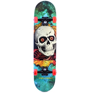 Powell Peralta Skateboard - Cosmic Ripper Green 7.75