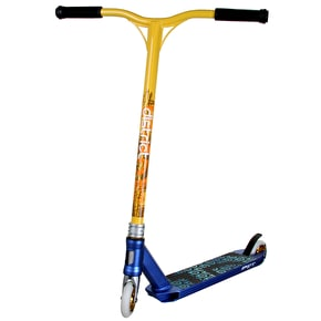 District x Grit Custom Scooter - Anodised Blue/Yellow