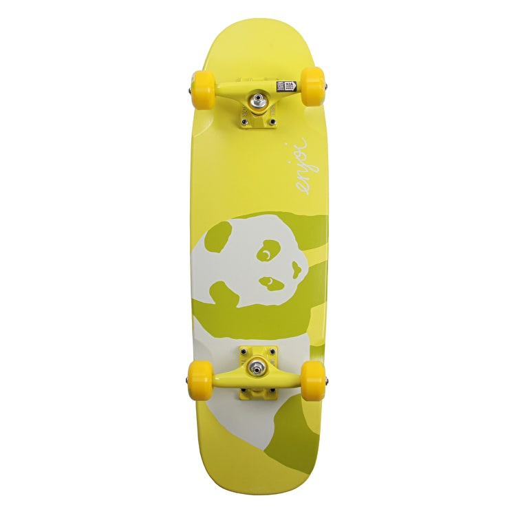 "Enjoi 80s 28"" Premium Complete Cruiser - Yellow"