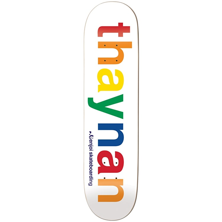 Enjoi Spectrum R7 Skateboard Deck - Thaynan 8.125""