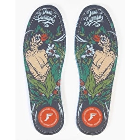 Footprint King Foam 7mm Flat Orthotics - Dane Burman