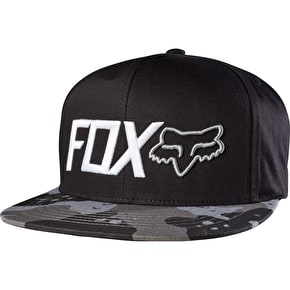 Fox Hazzard Snapback Hat Graphite