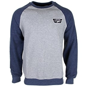 Vans Rutland Crew Sweater - Concrete Heather