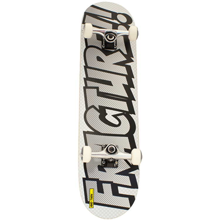 Fracture Comic 3 Skateboard - Silver 8""