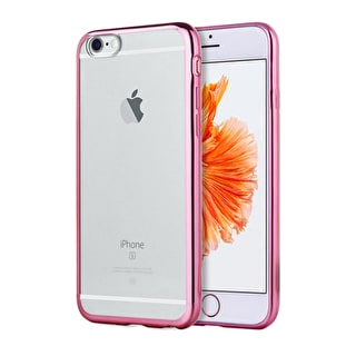 Aero Metallic Bumper iPhone Case - Pink