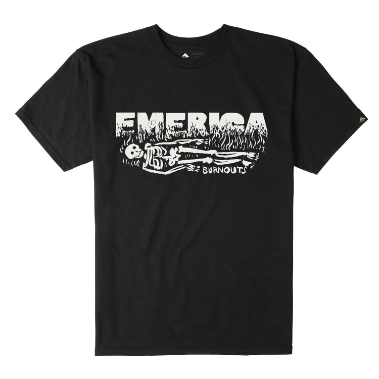 Emerica Burnout T-Shirt - Black