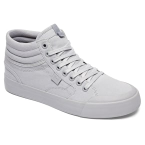 DC Evan Hi Womens Skate Shoes - Grey