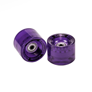 Karnage Super Smooth 59mm Skateboard Wheels - Purple - 2 Pack