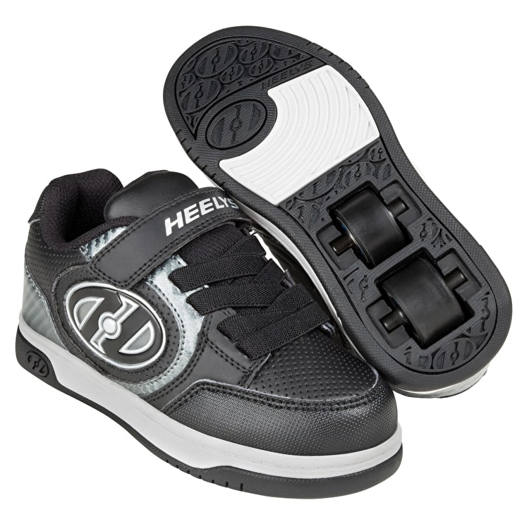 Heelys X2 Plus Lighted - Black/Carbon