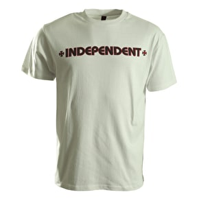 Independent T-Shirt - Bar Cross White