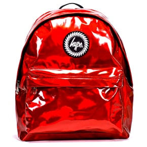 Hype Holographic Backpack - Red