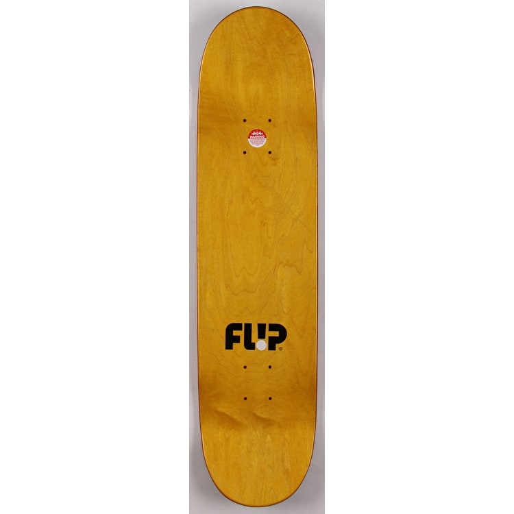 Flip Odyssey Camo Skateboard Deck - Red 7.88""
