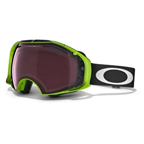 Oakley Airbrake 80 Snow Goggles - Neon Green/Prizm Rose/Black Iridium