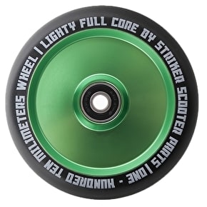 Striker 110mm Lighty Full Core Scooter Wheel - Green