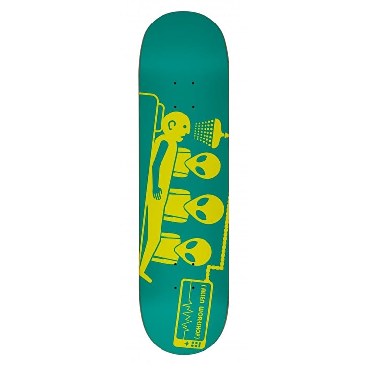 Alien Workshop Logo Skateboard Deck - Dayglo Abduction 8.125""