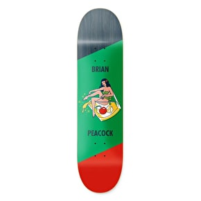 Primitive Pin Up Peacock Skateboard Deck - 8.13