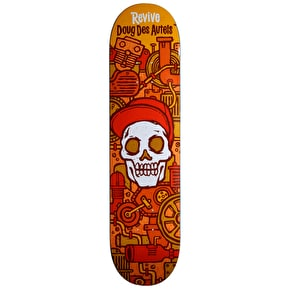 ReVive Des Autels Skull Skateboard Deck