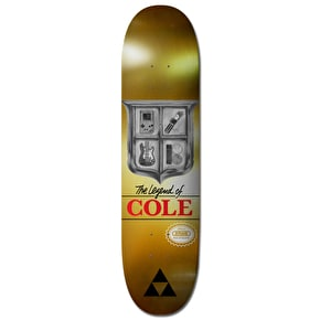 Plan B Cole Triforce Pro Spec Skateboard Deck - 8