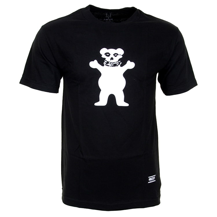 Grizzly Fiend Cub OG T-Shirt - Black