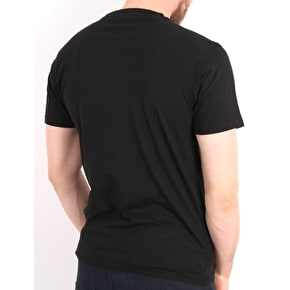 Santa Cruz Party Hand T-Shirt - Black