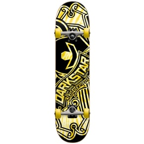 Darkstar Saloon Complete Skateboard - Yellow 7.75
