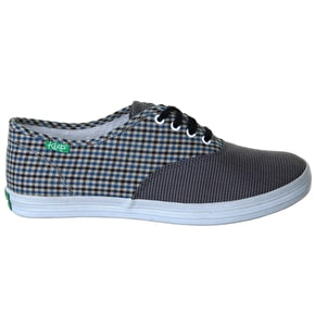 Keep Homer Shoes - Houndstooth/Blue Check