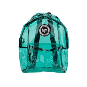 Hype Mint Transparent Backpack
