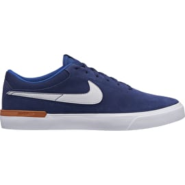 Nike SB Koston Hypervulc Skate Shoes - Blue Void/Vast Grey/Monarch/White