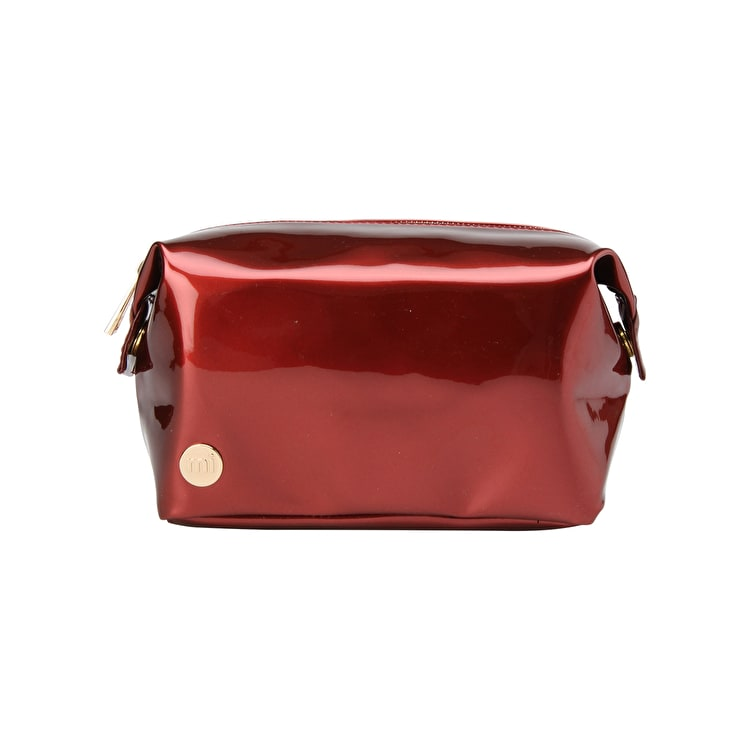 Mi-Pac Patent Wash Bag - Red