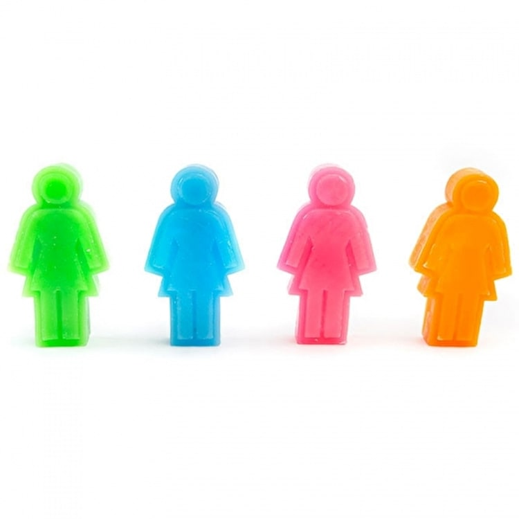 Girl Skateboard Wax - Assorted Colours