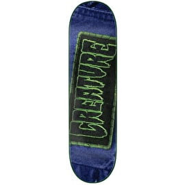 Creature Patched Skateboard Deck - 8
