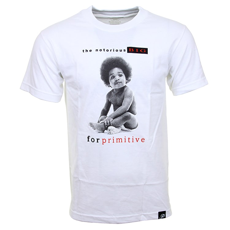 Primitive x Biggie Ready to Die T-Shirt - White
