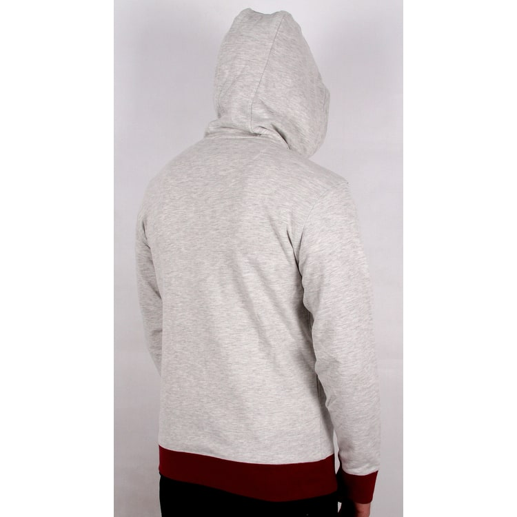 Primitive Nuevo Contrast Hoodie - Ice Heather