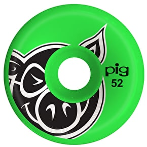 Pig C-Line Skateboard Wheels - Green 52mm