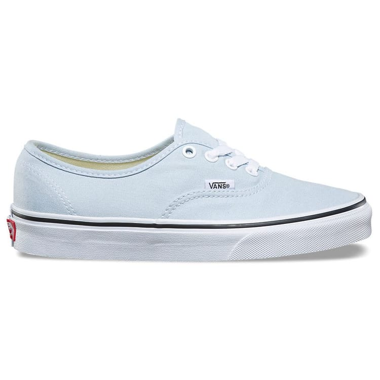Vans Authentic Skate Shoes Baby Blue True White