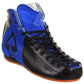 Antik AR1 Roller Derby Boot Only- Black/Blue
