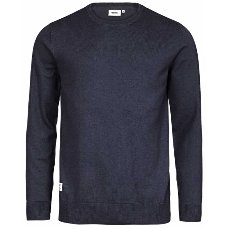 WeSC Anwar Sweater - Dark Navy Melange