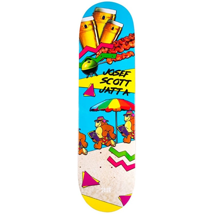 Sour OZ Summer Skateboard Deck - Jatta 8.5""