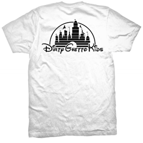 DGK T-Shirt - Dirty Premium White