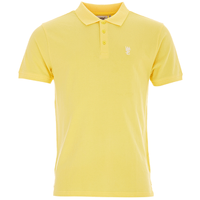 WeSC Antartic Polo T-Shirt - Banana Cream