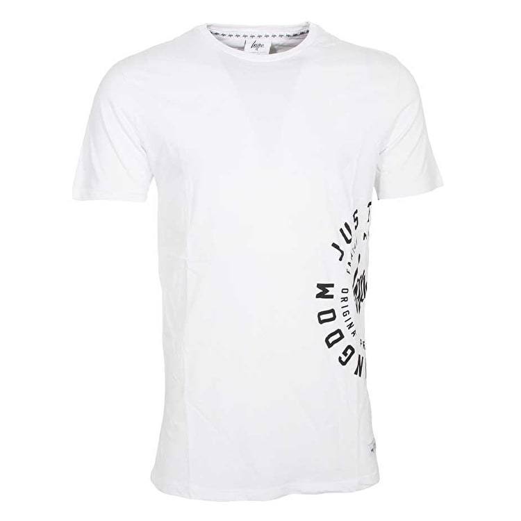 Hype Family Circle T Shirt - White