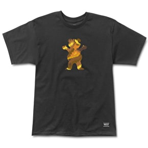 Grizzly Fur OG Bear T-Shirt - Black