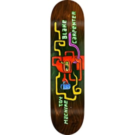 Toy Machine Squared Skateboard Deck - Carpenter 8.375