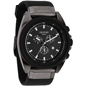 Nixon Rover Chrono Watch - Gunmetal/Black