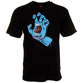 Santa Cruz T-Shirt - Screaming Hand Black