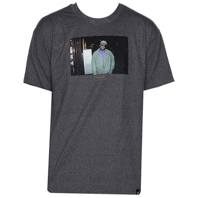 Primitive x Biggie Payphone T-Shirt - Charcoal Heather