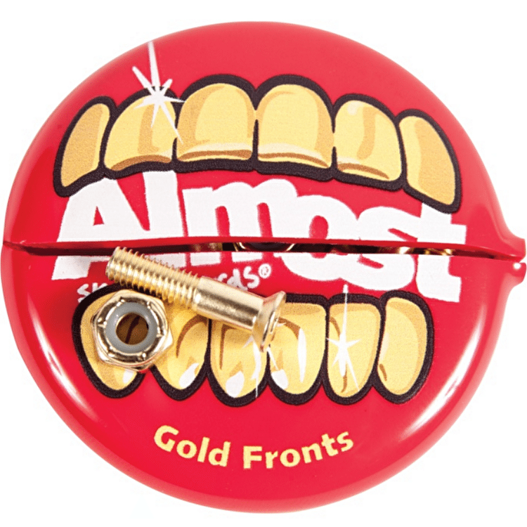 Almost 'Gold Nuts & Bolts' Allen Truck Bolts - 7/8""