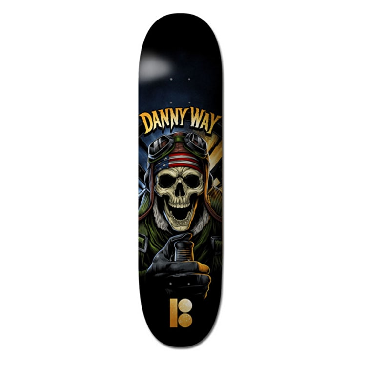 Plan B Skateboard Deck - No Prisoners BLKICE Way 8.375''